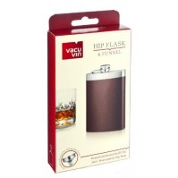 VACU VIN HIP FLASK & FUNNEL