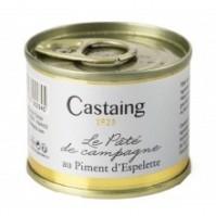 LE PÂTÉ DE CAMPAGNE AU PIMENT D'ESPELETTE CASTAING