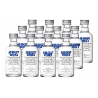 Absolut Mini Pack de 12 - Cristal
