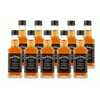 Jack Daniel's Mini Pack de 10 - Glass