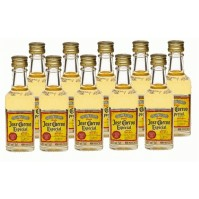 Tequila Jose Cuervo Reposado Dorado Mini Pack de 10 - Pet