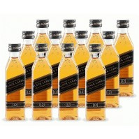 Whisky Johnnie Walker Black Label Mini Pack 12 - Pet