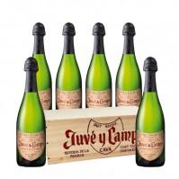 Juvé y Camps Reserva de La Familia - Wooden Box - 6 Bottles
