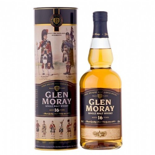 GLEN MORAY 16 ANYS 40º 0,70 L.