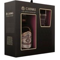 Chivas Regal 12 Years + 1 Glass