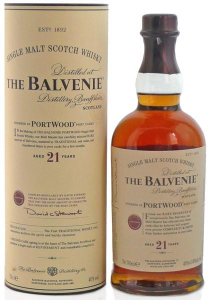 BALVENIE 21 ANYS PORTWOOD