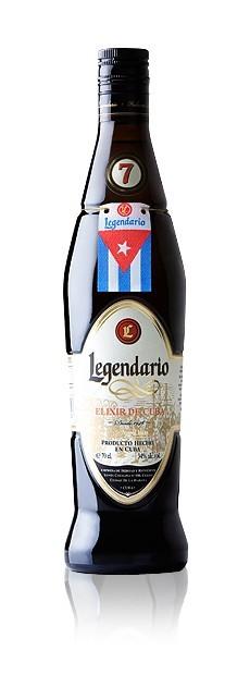 LEGENDARIO ELIXIR DE CUBA 7 ANYS