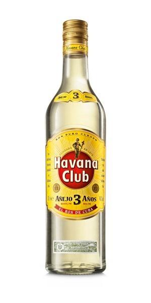 HAVANA CLUB 3 ANYS 70CL.
