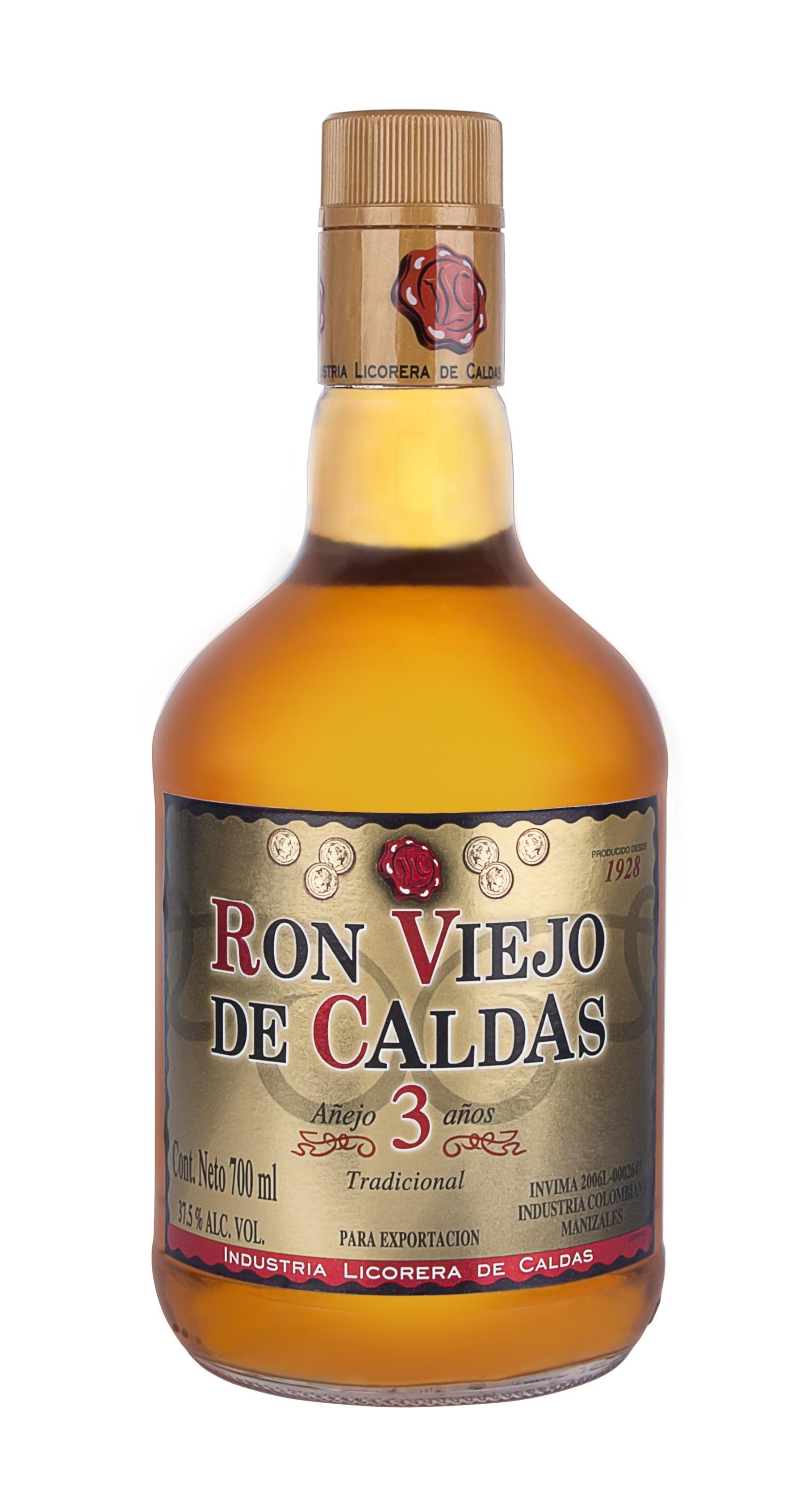 RON VIEJO DE CALDAS 3 AÑOS