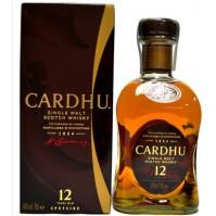 CARDHU 12 ANYS 40º