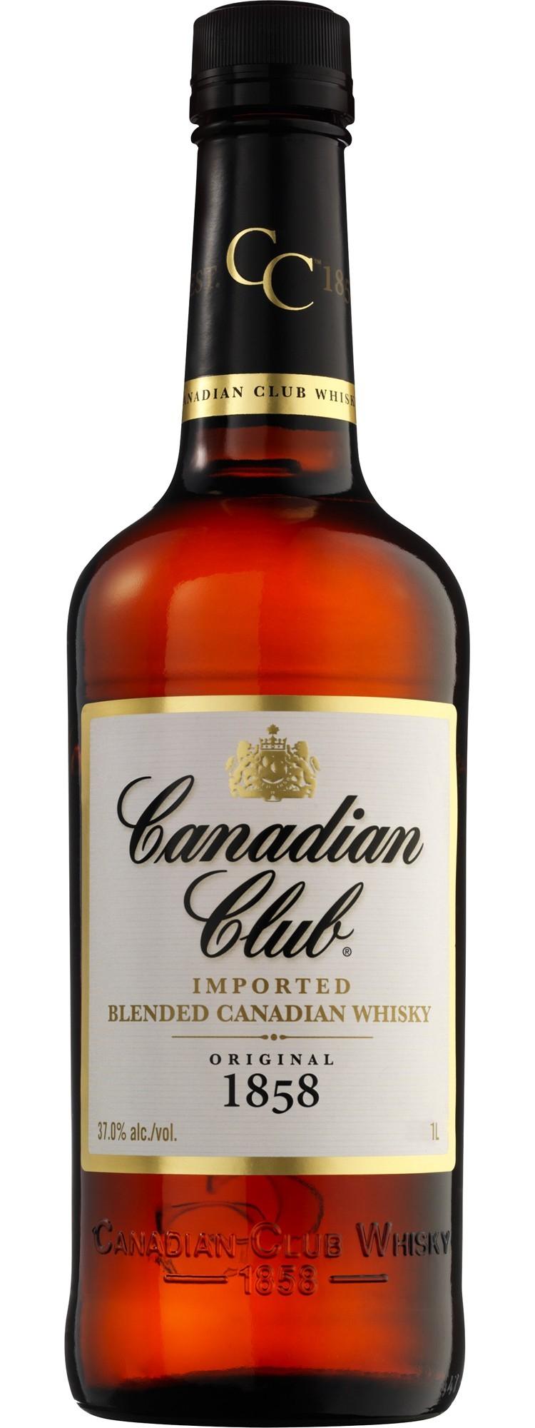 CANADIAN CLUB 1L.