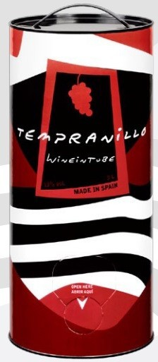 WINE IN TUBE TEMPRANILLO
