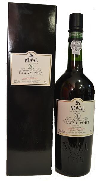 NOVAL OLD TAWNY PORT 20 ANYS