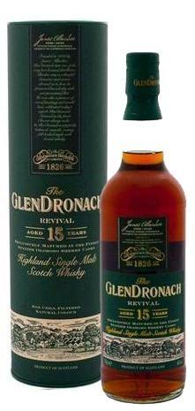 GLENDRONACH 15 ANYS - REVIVAL
