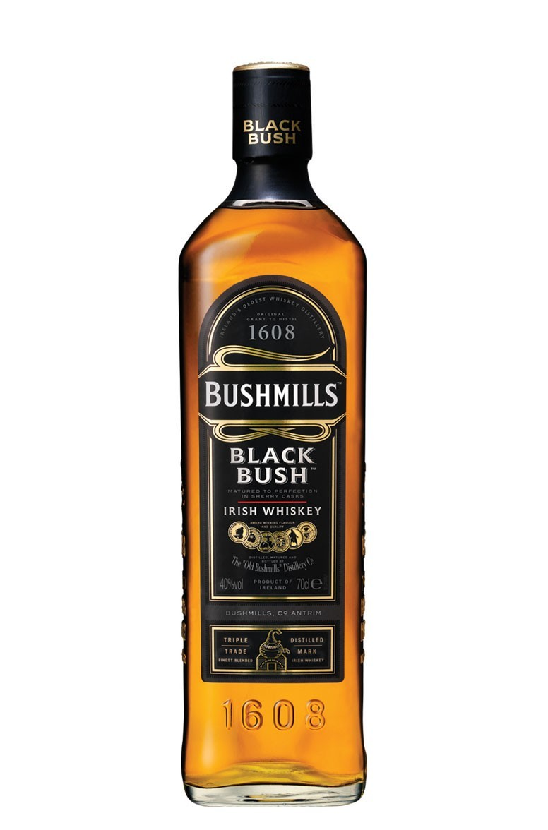 BUSHMILLS BLACK BUSH SPECIAL OLD 1L