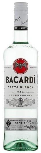 BACARDI BLANCO 1L