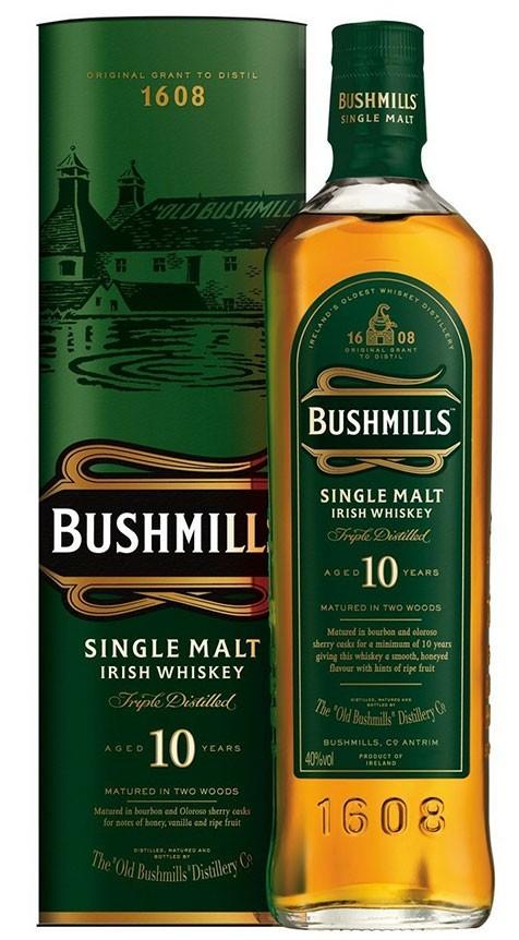 BUSHMILLS MALT 10 AÑOS 1L.