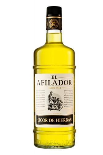 ORUJO EL AFILADOR HIERBAS 1L.
