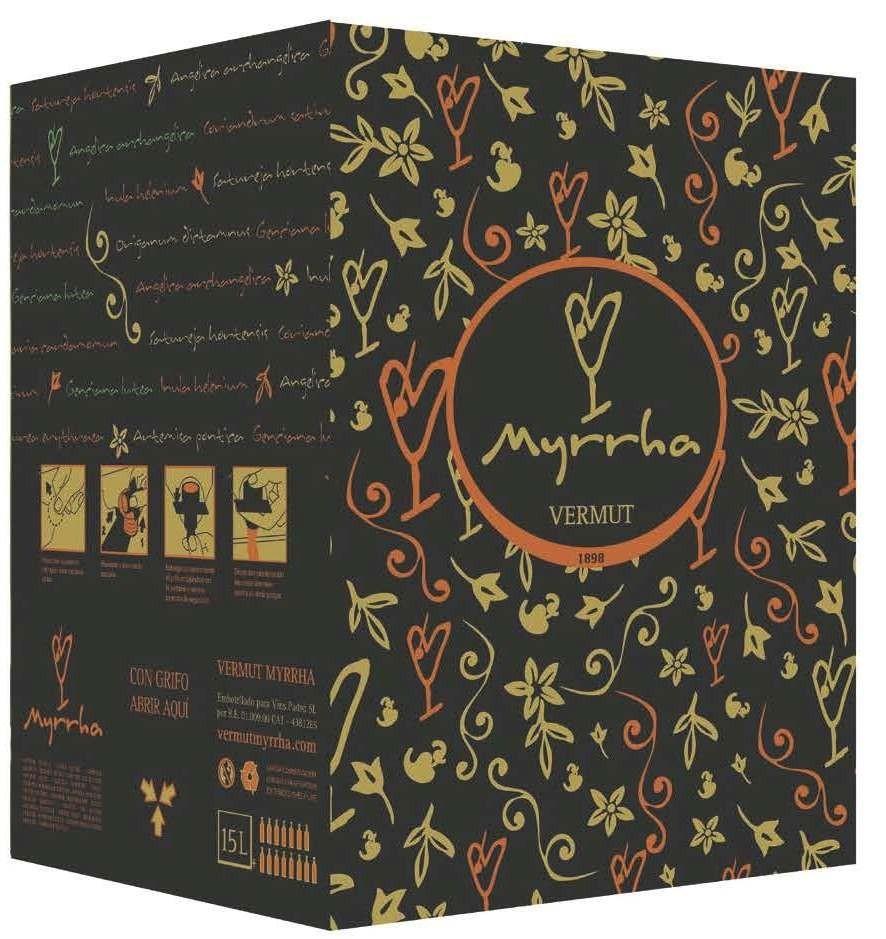VERMOUTH BAG IN BOX MYRRHA 15L.