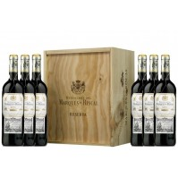 MARQUÉS DE RISCAL WOOD CASE 6 BOTTLES  2014