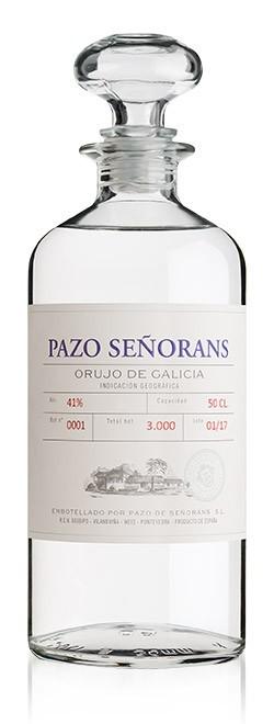ORUJO BLANCO PAZO DE SEÑORANS 50Cl.