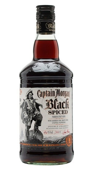 CAPTAIN MORGAN BLACK SPICED 1L.