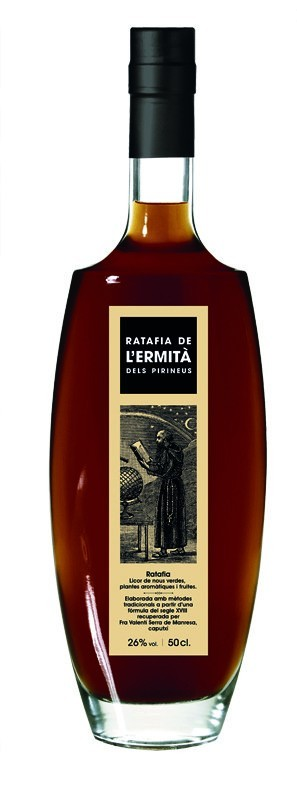 RATAFIA L'ERMITÀ DELS PIRINEUS 50CL.