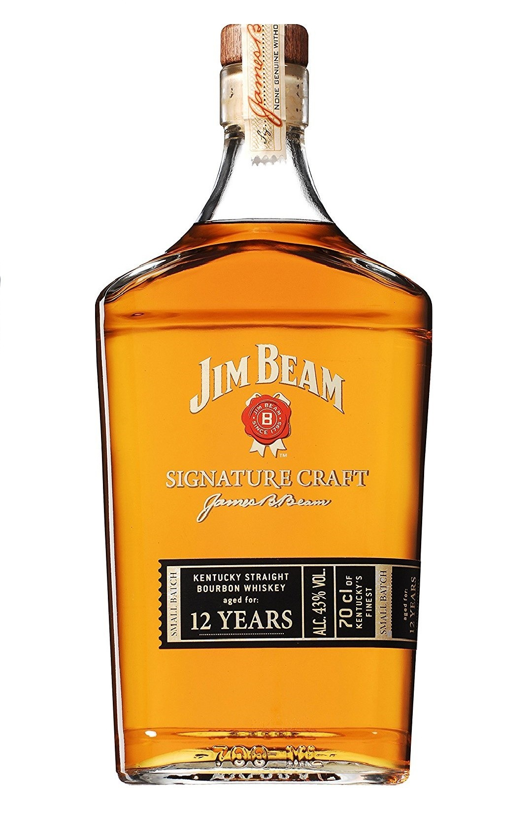 JIM BEAM SIGNATURE CRAFT 12 AÑOS