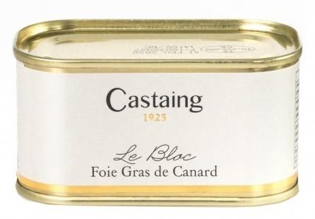 BLOC DE FOIE GRAS DE PATO CASTAING