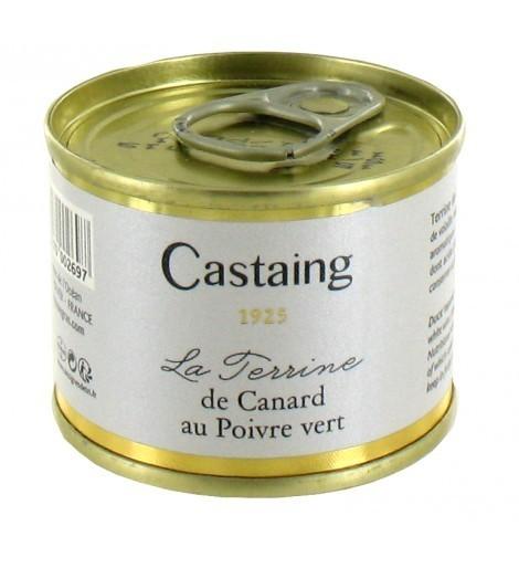 TERRINE CANARD AU POIVRE VERT CASTAING