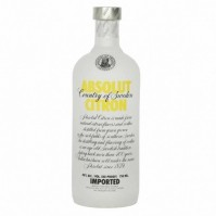 ABSOLUT  CITRON 40º 0,70 L.