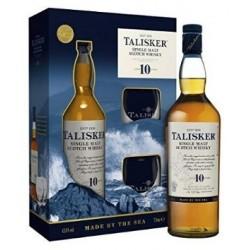 TALISKER 10 YEARS + 2 GLASSES