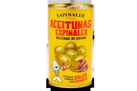 ACEITUNAS ESPINALER RELLENAS 350gr.