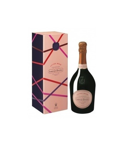 LAURENT PERRIER CUVÉE ROSE BRUT CASE