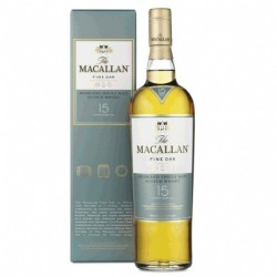 THE MACALLAN 15 ANYS FINE OAK 43º 0,70 L.